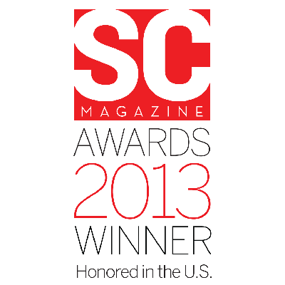 2013 SC Magazine Winner award