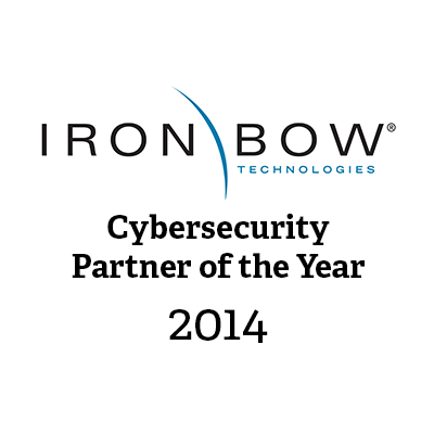 Iron Bow Cyber Security Partner of the Year
