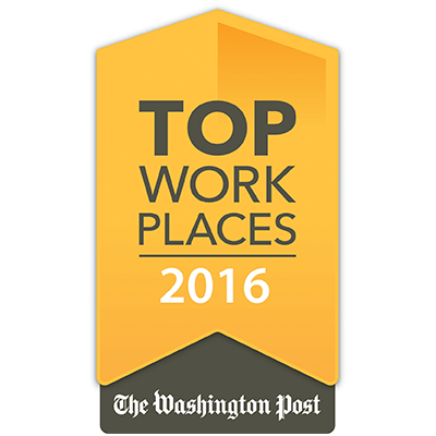 Washington Post Top Places to Work 2016