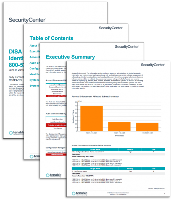 DISA Control Correlation Identifiers and NIST 800-53 Families